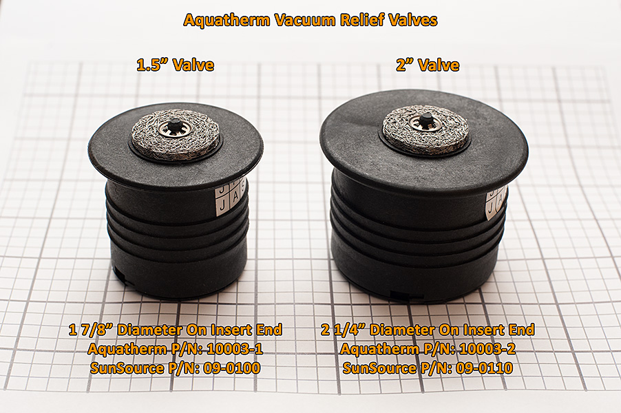 Aquatherm Vacuum Relief Valve 1 5 Quot Aquatherm Industries