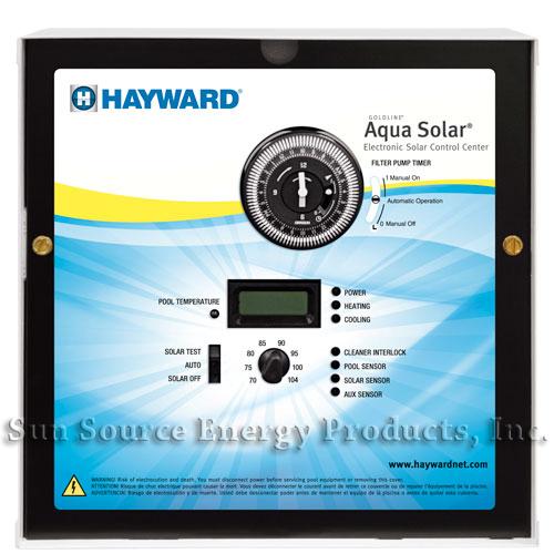 Goldline Aqua Solar Tc Digital Solar Pool Combo Sun