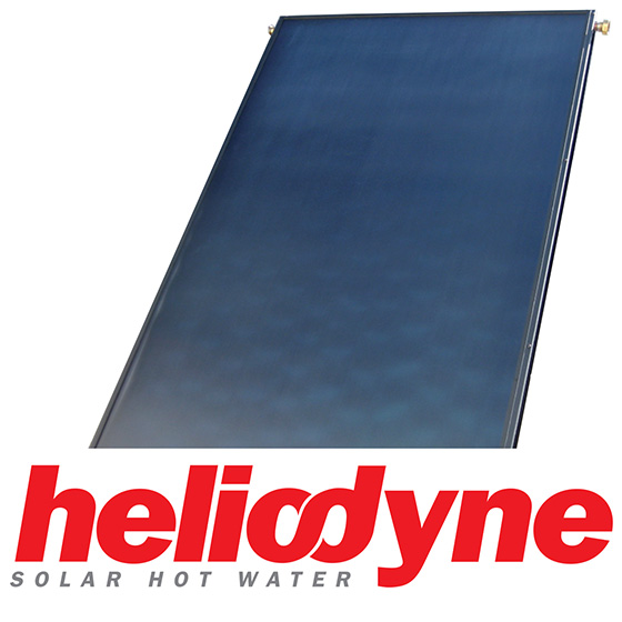Heliodyne Solar Domestic Hot Water System, Double Wall HX (64/80)